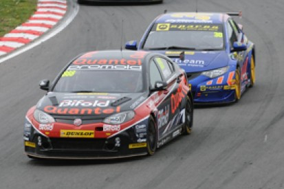 Brands Hatch BTCC: Marc Hynes excluded from race two