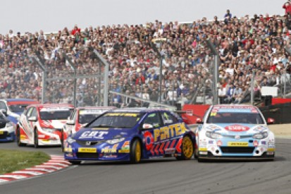 Brands Hatch BTCC: Andrew Jordan resists Jason Plato in opener