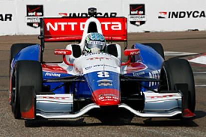 St Petersburg IndyCar: Ryan Briscoe fastest in windy third practice