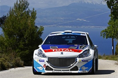 Acropolis ERC: Breen dominates day one with new Peugeot 208