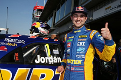 Brands Hatch BTCC: Andrew Jordan grabs first pole of 2014