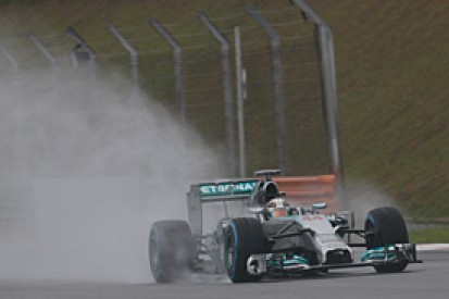 Malaysian GP: Hamilton says pole was just his banker lap