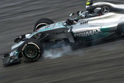 Malaysian GP: Nico Rosberg fastest as Mercedes dominates