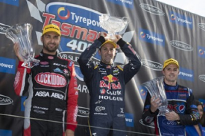 Symmons Plain V8s: Jamie Whincup doubles up in race two