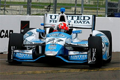 St Petersburg IndyCar: James Hinchcliffe tops first practice of '14