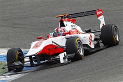 Estoril GP3 test: Dino Zamparelli tops rain-hit first day