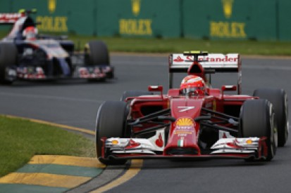 Ferrari had software problem early in Australian Grand Prix