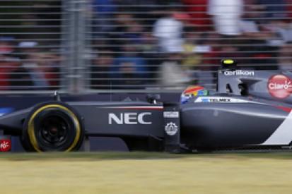 Malaysian GP: Sauber admits its 2014 Formula 1 car is overweight