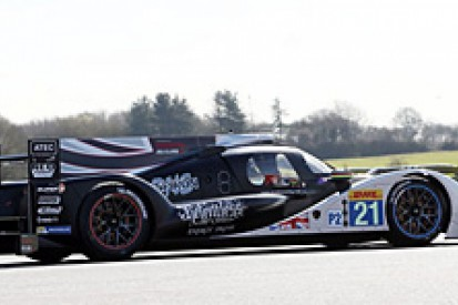 Strakka Dome LMP2 coupe withdraws from WEC test