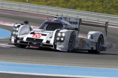 Porsche completes first two-car test of 919 Hybrid at Paul Ricard