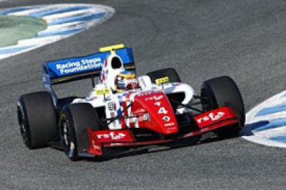 Oliver Rowland fastest on day two of Jerez Formula Renault 3.5 test