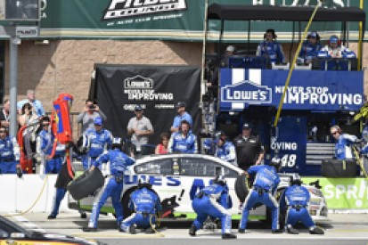Fontana NASCAR: Jimmie Johnson calls for tyre issue investigation