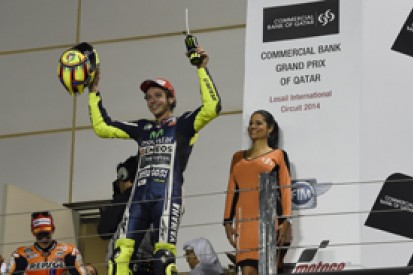 Qatar MotoGP: Valentino Rossi not frustrated over missed win