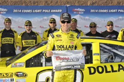 California NASCAR: Kenseth beats Keselowski to Fontana pole