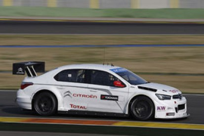 Loeb sets pace for Citroen in first official 2014 WTCC test