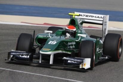 Bahrain GP2 test: Alexander Rossi fastest for Caterham on day one