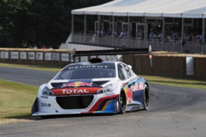 Sebastien Loeb eyes Goodwood record in Pikes Peak Peugeot T16