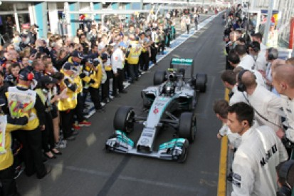 Mercedes insists its 2014 dominance overstated by Formula 1 rivals