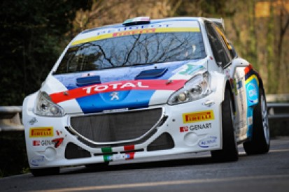 Peugeot content with new 208 T16 rally car's debut in Italy