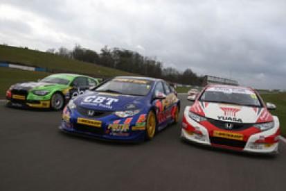 Donington BTCC test: Jordan edges Shedden, with Menu in third