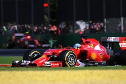 Australian GP: Fernando Alonso says Ferrari cannot be happy