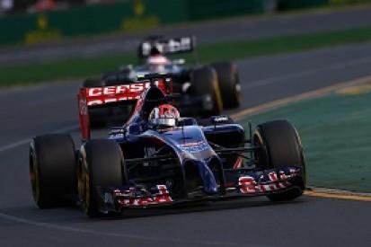 "Australian GP: Record-breaking points finish ""intense"" - Kvyat"