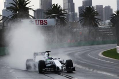 Australian GP: Williams struggling in the wet, say Massa and Bottas
