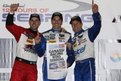Sebring 12 Hours: Ganassi's Pruett, Rojas and Franchitti take win