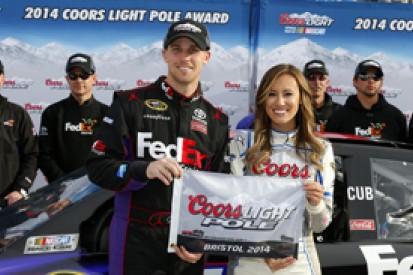 Bristol NASCAR: Denny Hamlin and Joe Gibbs halt Penske pole run