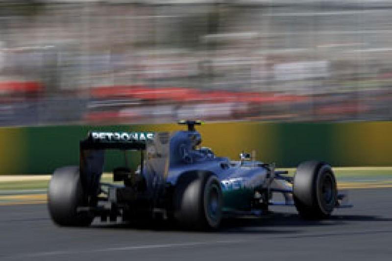 Australian GP: Rosberg dominates final practice in Melbourne
