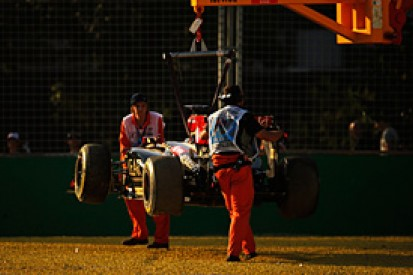 Australian GP: Grosjean fears weekend a test session for Lotus