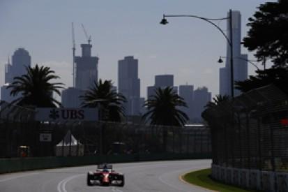 Australian GP: Fernando Alonso and Ferrari fastest in practice one