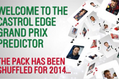 Castrol EDGE Grand Prix Predictor is back for 2014 F1 season