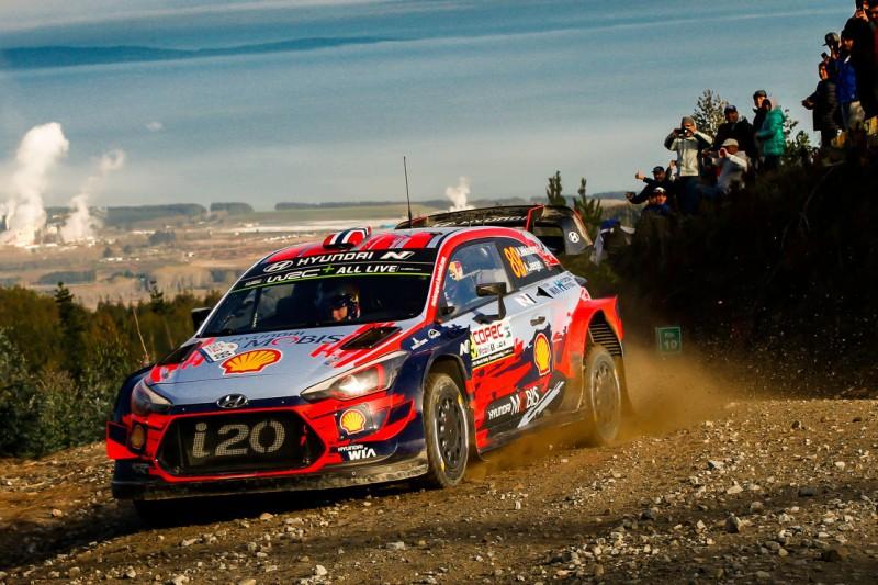 WRC in Sardinien: Andreas Mikkelsen wieder zurück bei Hyundai