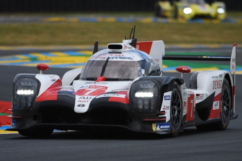 24h Le Mans Training: Toyota am schnellsten - Krohn mit Unfall