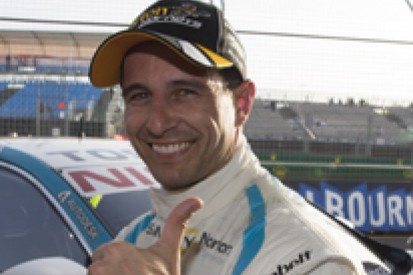 Melbourne V8s: Michael Caruso puts Nissan on pole for F1 support