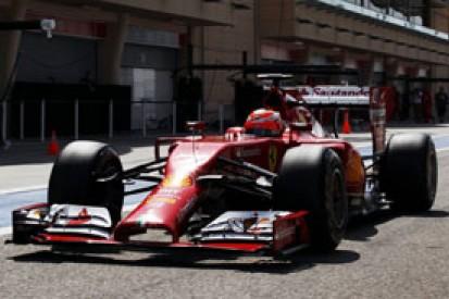 Raikkonen, Alonso say podium Ferrari's goal for F1 2014 opener