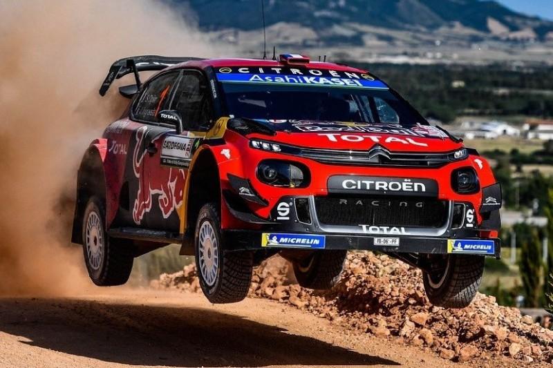 WRC Shakedown Italien: Erst Einschlag, dann Bestzeit für Sebastien Ogier