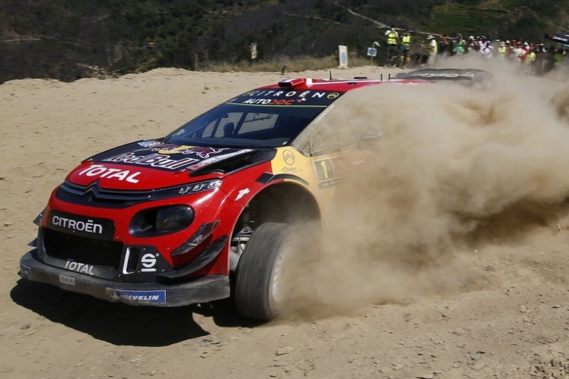 WRC Rallye Italien: Citroen-Doppelschlag bei der ersten Prüfung