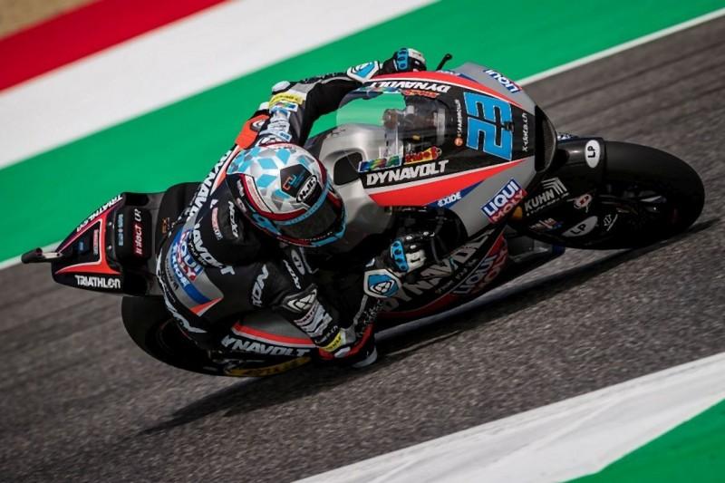 Moto2 FT1 Barcelona: Stürze von Schrötter und Öttl, Folger in Top 20