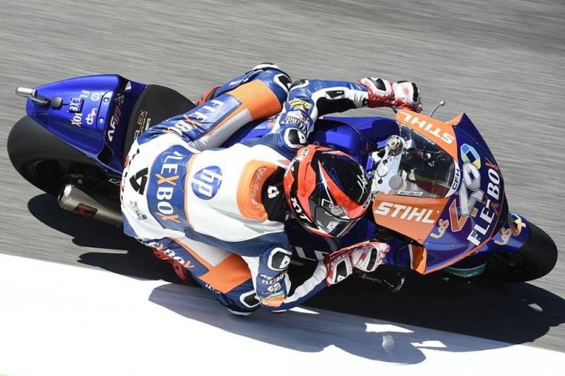 Moto2 Barcelona FT2: Fernandez knapp vor Lüthi