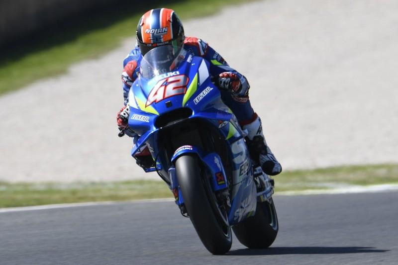 MotoGP FT3 Barcelona: Rins fährt Bestzeit, heftiger Crash von Morbidelli