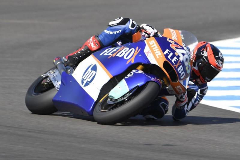 Moto2 Barcelona: Erste Pole-Position für Augusto Fernandez
