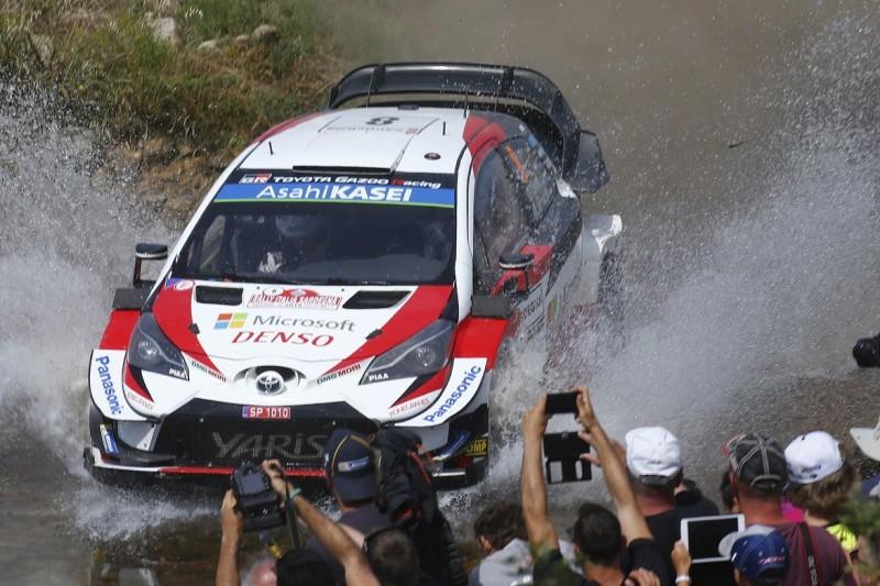 WRC Rallye Italien: Glatter Durchmarsch bringt Tänak auf Siegkurs