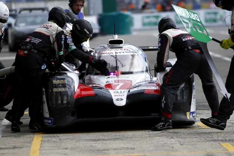 Toyota wechselt falschen Reifen: Was bei der #7 schiefgelaufen ist