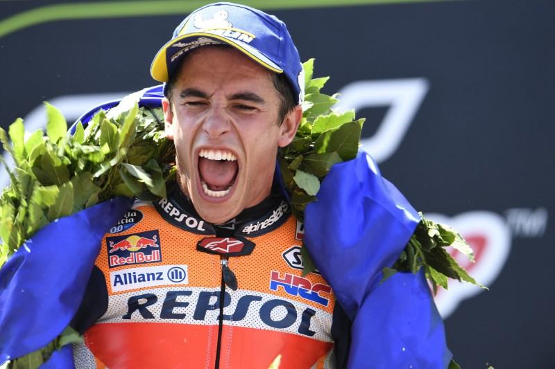 """""""Hatte viel Glück"""": Marc Marquez entkommt Sturzdrama als Sieger"""