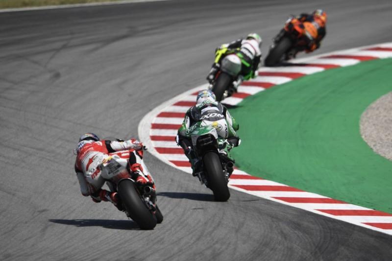 Moto2-Test in Barcelona: Test neuer Reifenspezifikationen im Fokus