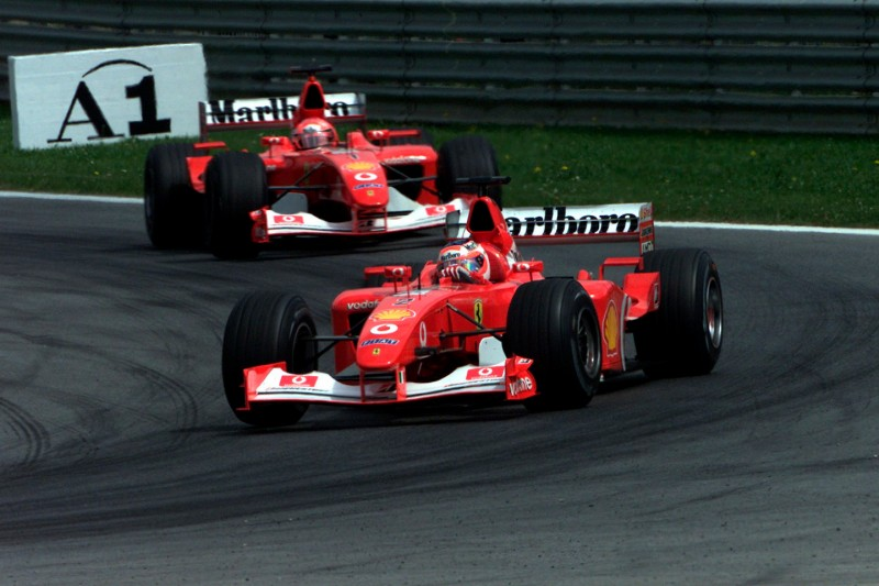 Österreich 2002: Legendärer Stallorder-Ferrari wird versteigert