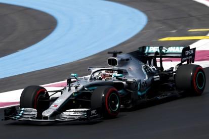 Formel-1-Training Frankreich: Mercedes unterstreicht Favoritenrolle