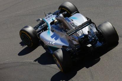 Monaco GP: Lewis Hamilton leads Daniel Ricciardo in practice three